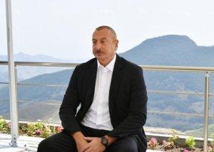 Prezident AZTV-yə müsahibə verib