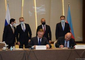 """Rusiyanın """"KamAZ"""" şirkəti ilə Gəncə Avtomobil Zavodu arasında memorandum imzalanıb"""