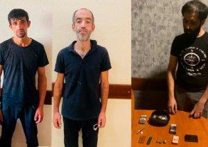 Nərimanov rayonunda narkotik vasitələrin satışı ilə məşğul olan 3 nəfər saxlanılıb