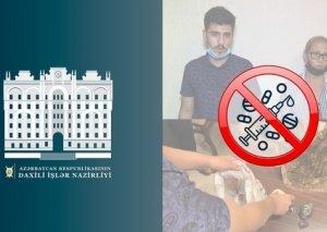 """Bakıda """"patı"""" satan ana və oğlu saxlanılıb FOTO"""