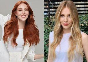 Kürən saçlarını boyaması bəyənilmədi - Fotolar