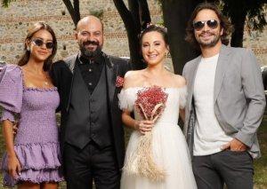 """""""Bir zamanlar Kıbrıs""""ın aktyoru evləndi - Fotolar"""