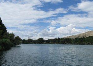 Kür çayının Qıraqkəsəmən məntəqəsində suyun səviyyəsi 8 santimetr azalıb
