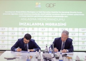 ETSN-lə Qarabağ Dirçəliş Fondu arasında memorandum imzalandı