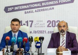 Beynəlxalq Biznes Forumla bağlı mətbuat konfransı keçirildi