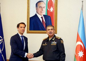 Zakir Həsənov NATO-nun xüsusi nümayəndəsi ilə görüşdü