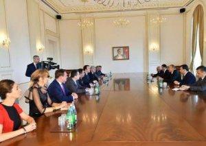 Prezident İlham Əliyev AŞPA-nın Referendumu Dəyərləndirmə Missiyası nümayəndələrini qəbul edib