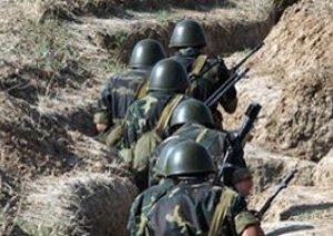 Qarabağda döyüşlər: bir erməni əsgəri öldürüldü, doqquzu yaralandı