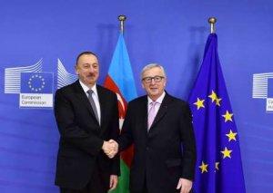 Prezident İlham Əliyev Brüsseldə mühüm görüşlər keçirdi