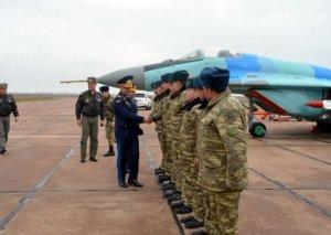 Türkiyə Hərbi Hava Qüvvələrinin komandanı Azərbaycanın hərbi aviabazalarında olub