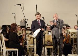 Filarmoniyada tanınmış bəstəkarın 60 illik yubileyi qeyd edilib