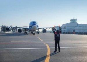 Zaqatala Beynəlxalq hava limanı istifadəyə verildi