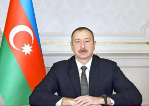 İlham Əliyev YAP Sumqayıt şəhər təşkilatının binasının açılışında