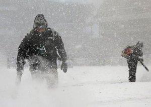 Nyu Yorkda qar fırtınası: