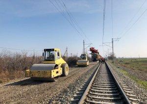 Şəmkir-Alabaşlı mənzilində 8,6 km dəmir yolu əsaslı təmir olunur