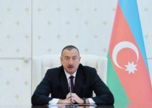 """Prezident İlham Əliyev 2018-ci ili """"Azərbaycan Xalq Cümhuriyyəti İli"""" elan edib"""