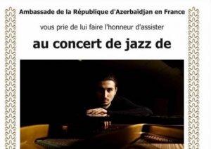 İsfar Sarabski Parisdə konsert proqramı ilə çıxış edəcək