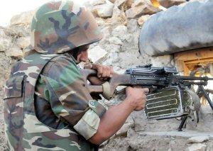 Ermənistan silahlı qüvvələri atəşkəsi 124 dəfə pozub