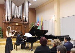 Litvada dahi bəstəkar Qara Qarayevin xatirəsi anılıb