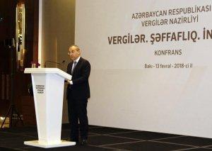 Nazir: Azərbaycanın vergi sistemində şəffaflıq təmin olunacaq