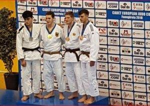 Yeniyetmə cüdoçular Avropa kubokunda daha 3 medal qazanıb