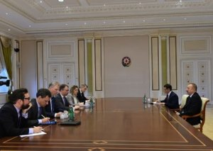 Prezident İlham Əliyev Avropa İttifaqının xüsusi elçisini qəbul edib