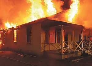 Ziya Məmmədovun İsmayıllıdakı evi yandı