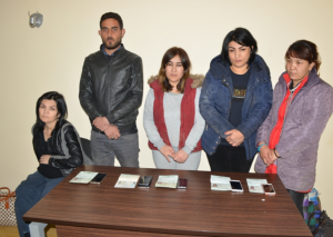 Azərbaycandan İrana keçmək istəyən 6 qanunsuz miqrant saxlanılıb