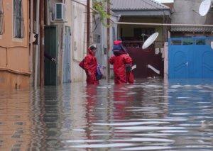 Yağışdan sonra Bakının su basan ərazilərinin adları açıqlandı
