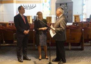 Azərbaycan ABŞ-da qasırğadan ziyan görmüş sinaqoqun bərpasına maddi yardım edib