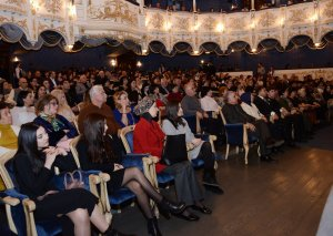 """Musiqili Teatrda """"Nuri-didə Ceyhun"""" tamaşasının premyerası olub"""