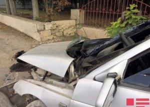 Sumqayıtda iki avtomobil toqquşub, 27 yaşlı oğlan ölüb