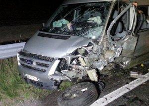 Yevlaxda şagirdləri daşıyan mikroavtobusun aşması ilə bağlı cinayət işi başlandı
