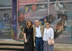 Teatr beynəlxalq festivalda çıxış edib