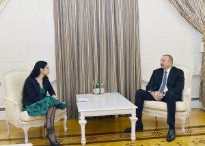 İlham Əliyev Rumıniyanın Baş nazirinin müavinini qəbul edib