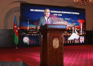 İslamabadda Azərbaycan Xalq Cümhuriyyətinin 100 illik yubileyinə həsr olunmuş tədbir keçirilib