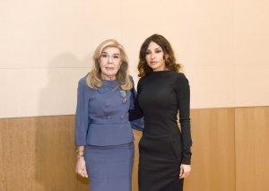 Mehriban Əliyevanın ELPIDA Assosiasiyasının və Marianna Vardinoyannis Fondunun prezidenti ilə görüşü olub