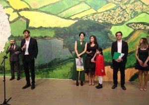 Bakıda tanınmış rəssamlar Aida Mahmudova və Mikelancelo Pistolettonun sərgisi açılıb