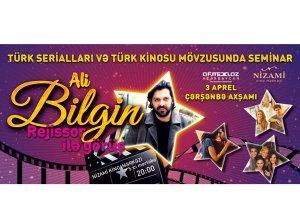 Məşhur türk serialının rejissoru Bakıya gəlir