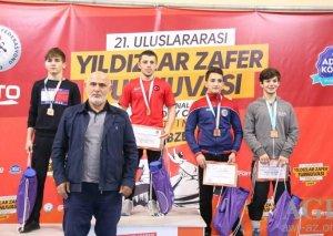 Güləşçilərimizdən 2 qızıl, 2 gümüş və 4 bürünc medal