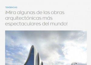 İspaniyanın rəqəmsal portalının dünyanın qeyri-adi tikililəri siyahısında Heydər Əliyev Mərkəzinin də adı var