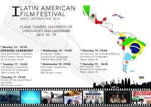 Bakıda ilk dəfə Latın Amerikası Kinofestivalı keçiriləcək