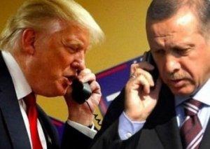 Ərdoğanla Tramp arasında telefon danışığı olub