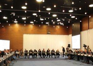 Gürcüstanın daxili işlər naziri xarici iş adamları ilə görüşüb