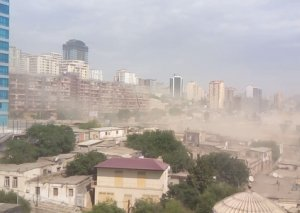 ETSN: Bakıda toz-dumanın miqdarı sanitar norma daxilindədir