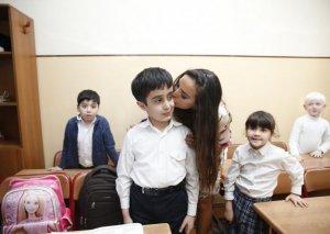 Leyla Əliyeva internat məktəbində