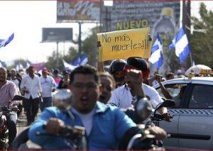 Nikaraquadakı iğtişaşlarda 2 polis əməkdaşı öldürülüb, onlarla insan xəsarət alıb