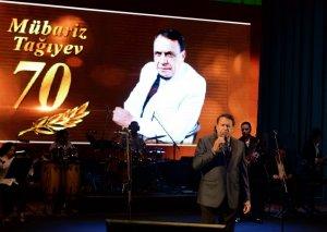 Xalq Artisti Mübariz Tağıyevin 70 illik yubileyi geniş konsert proqramı ilə qeyd edilib