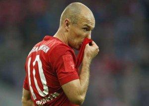 Robben zədələndi