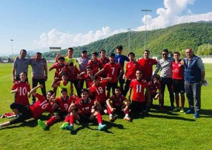 """""""Qəbələ""""nin U-16 komandası çempion oldu"""